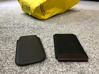 iPhone 5, 5s, 5SE maybe 5c leather pouches