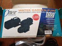 Otter Water Garden Pump
