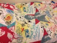 High school musical single bedding set - duvet, pillows and fleece