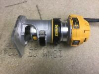 DEWALT 900W, 110V PALM ROUTER, TRIMMER, PERFECT WORKING ORDER