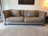 3-Seater John Lewis Sofa and matching Love Seat