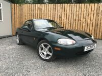 2000 MAZDA MX5 1.8i CONVERTIBLE with HARD TOP Low Miles ( vauxhall bmw toyota classic )