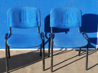 Pair of blue chairs (Delivery)