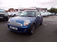*MINI COOPER 1.6*57 REG*IMMACULATE*1 FORMER KEEPER*SERVICE HISTORY*LOW MILEAGE*GREAT VALUE AT £3995*