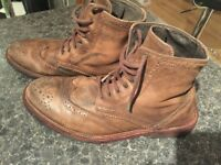 ALLSAINTS BOOTS PAID 230 ONLY 30 SIZE 43