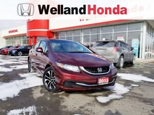 2013 Honda Civic EX| LOCAL LEASE RETURN| ACCIDENT FREE|