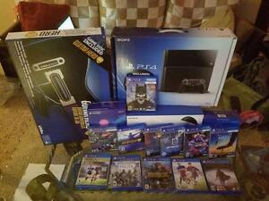 Sony PlayStation 4 [500 GB - Jet Black] VR Bundle Plus 13 Games