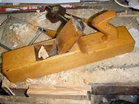 Vintage Clasic Wooden Jack Block Plane