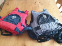 Two Junior Crewsaver Buoyancy Aids