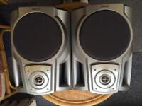 Awia Speakers and wall brackets