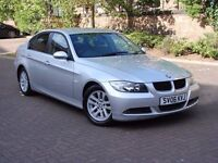 EXCELLENT DIESEL!!! 2006 BMW 3 SERIES 2.0 320d SE 4dr, FULL LEATHER, FSH, 1 YEAR MOT, AA WARRANTY