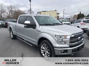 2016 Ford F-150 Lariat, Leather, Tow Pkg, Camera, Sync 3, Nav
