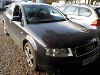 audi a4 se tdi runs spares or repair