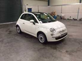 2014 fiat 500 lounge 1.2cc 1 lady owner low miles fsh pristine guaranteed cheapest in country