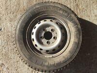 Isuzu NQR 7.5 tonne Spare wheel