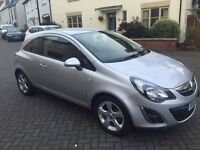 VAUXHALL CORSA 1.2 i 16v SXi 3dr 2013! 8 MONTHS MOT! DRIVES LIKE NEW! EXCELLENT CONDITION!!