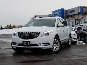 2016 Buick Enclave Premium Premium, LEATHER, NAV, ONE OWNER,...