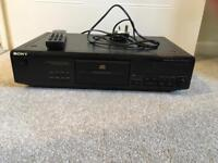 Sony CD player separate