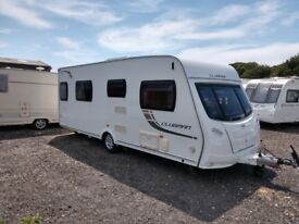 Lunar Clubman SI Caravan 2012. FSH. Mover.Solar panel. Awning. Extras. 07721 532711