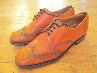 Good Quality Men's Tan Leather Brogue shoes