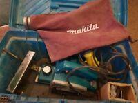 Makita 110v 580w Planer Guide Dust Bag N1923BD Japan