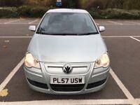 2008 Volkswagen polo 1.4 tdi bluemotion tech low miles cheap car bargain