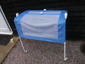 GENUINE LINDAM BABY TODDLER BED SAFETY MATTRESS RAIL BLUE VERY GOOD CONDITION