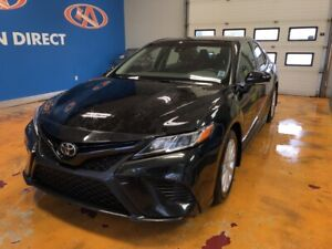 "2018 Toyota Camry SE 17"" ALLOYS/ AUTO AIR CON/ HEATED SPORT L..."