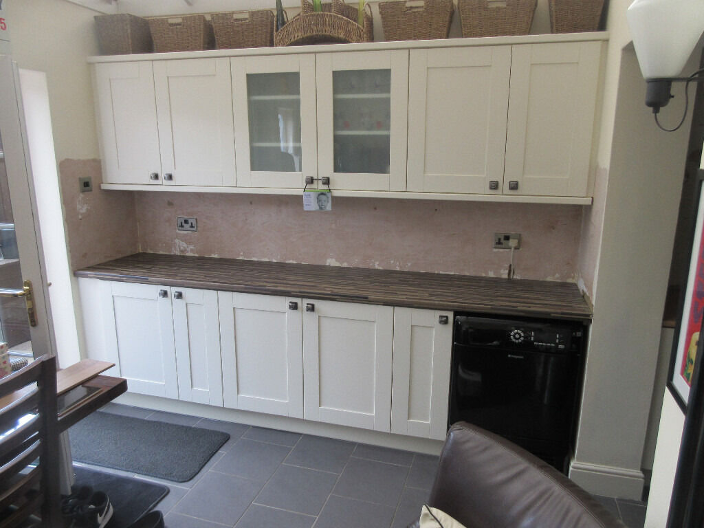 Wickes Kitchen Furniture Kitchen Worktops X 2 Zebra Block Wood Effect Wickes Used But In