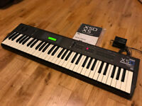 Korg X5D Synthesizer 61-key keyboard inc. original PSU and manual - Excellent condition!