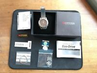 Citizen Mens Watch- 1999 Chronograph Eco Drive Alarm Calendar - 0870-H11623 wr100