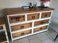 Rustic dining room / hall furniture 4 x piece set