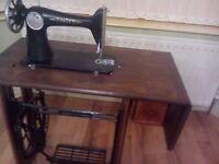 Singer sewing machine old