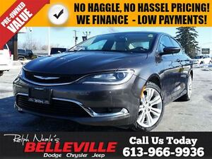 2015 Chrysler 200 Limited-Bluetooth-Remote Start