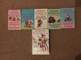 Sophie Kinsella Shopaholic book set of 5
