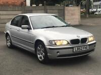 2002 BMW 318i SE 2.0 * MANUAL * PARKING SENSORS * ALLOYS *MOT *PX WELCOME * DELIVERY