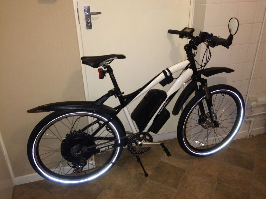 cyclotricity stealth 1000w electric bike in hertford hertfordshire gumtree. Black Bedroom Furniture Sets. Home Design Ideas