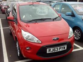 FORD KA 1.2 Zetec [Start Stop] (red) 2014