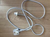AC power cord for iMac - white