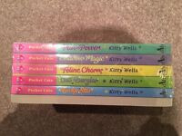 Pocket Cats by Kitty Wells 6-book set still in original cellophane