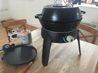Small portable gas bbq