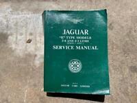 Original Jaguar 3.8 and 4.2 service manual