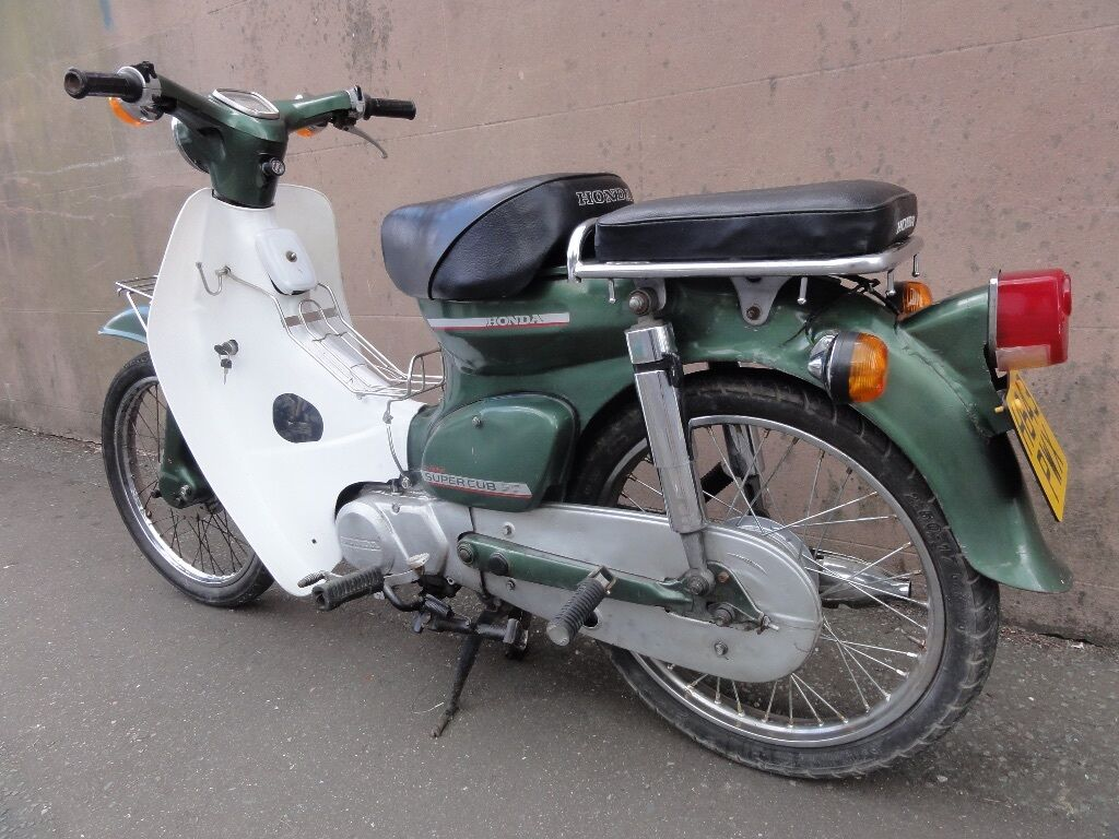 classic honda c 50 super cub scooter in brighton east sussex gumtree. Black Bedroom Furniture Sets. Home Design Ideas