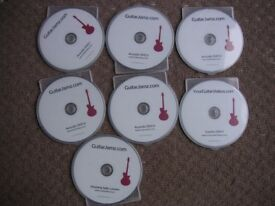 guitar jamz rythm master and solo techniques dvd lessons,fender,gibson,epiphone
