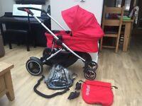 Phil & Teds Voyager travel system pushchair / pram / stroller RRP £599