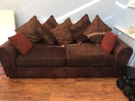 Extra Comfy Brown Sofa