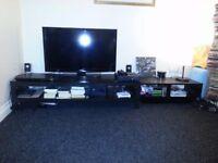 TV Stand Black Unit