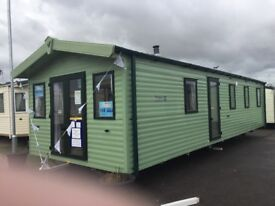 New caravan holiday home based on central beach holiday park, Leysdown on sea, isle of sheppey Kent