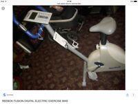 Reebok digital exercise bike