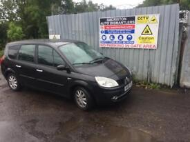 breaking for spares renault grand scenic 1.6 16v 7 seater 2008